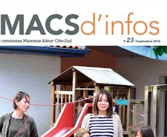 MACS, bulletin, communautaire, mise en page, rédaction